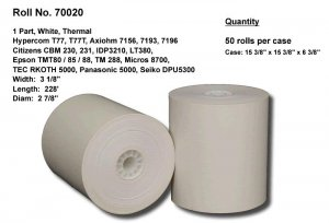 T77 Thermal Receipt Paper